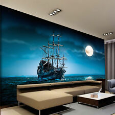 3D Wallpaper Bedroom Mural Modern Living room TV sailing Background Wall 668