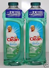 2 Mr Clean with Febreze Freshness Meadows & Rain Scent Multi-Purpose Cleaner ❀❤☀