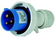 SPINA INDUSTRIALE 2P+T 220-250V16A IP67 COLORE BLU