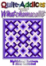 WHATCHAMACALLIT -  MULTI SIZED Quilt-Addicts Pattern