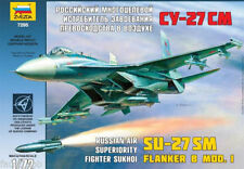 Zvezda 7295 Russian Air Superiority Fighter SU-27 SM Flanker B Mod I 1/72