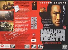 Marked For Death, Steven Seagal Video Promo Sample Sleeve/Cover #9346