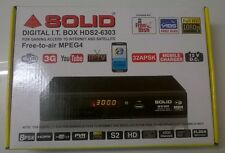 Buy FREE TO AIR /DVS2/MPEG4/SOLIDHDS2-6303 DIGITAL I.T. BOX WITH SATELLITE CARD