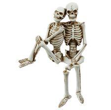 "New! RAZ Imports 11"" DANGLE-LEG SKELETON COUPLE Halloween Decor"
