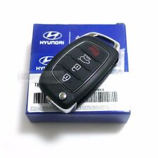 OEM Keyless Entry Fob Folding Key Remote Control For HYUNDAI 15-17 Sonata LF i45