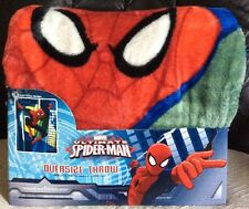 Spiderman Ultimate Oversize Throw Blanket  ~  78 x 59 Inches *FREE SHIPPING NEW!