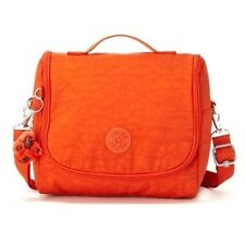NWT KIPLING KICHIROU LUMINOUS ORANGE LUNCH BAG SLING CROSSBODY PURSE AC7254 SALE