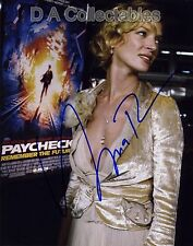 UMA THURMAN signed photo 2 - at PAYCHECK premiere - KILL BILL - PULP FICTION