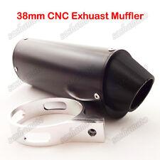 38mm CNC Exhaust Muffler 125cc 140 150 160cc CRF50 SSR TTR KLX Dirt Pit Bike ATV