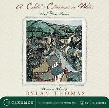 A Child's Christmas in Wales by Dylan Thomas (2002, CD, Anniversary,...