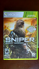 Sniper: Ghost Warrior (Microsoft Xbox 360, 2010) Platinum Hits Edition