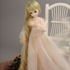 "Dollmore 1/4 BJD OOAK Supplier MSD wig (7-8)""  Old Story Long Wig (Blond)"