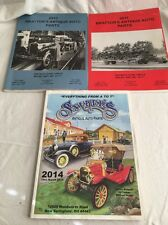 3 Lot Catalog Antique Auto Parts Britton's 2010 2011 & Snyder's 2014