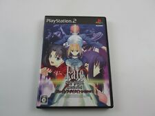 Fate stay Night Realta Nua Playstation 2 Japan Ver PS2