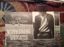 m12n ephemera 1970 film article wuthering heights on location timothy dalton
