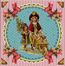 Puppenmütter Nostalgischer Adventskalender mit Umschlag Klappkarte 12443