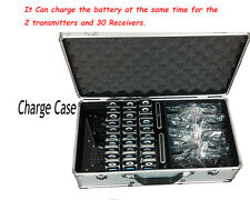 NEW 195MHz-230MHz Wireless Tour Guide/Translation System with Charge Case 2T/30R