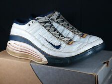 2000 Nike Team Super Max Sz 10.5 White/Navy - air zoom tb vintage