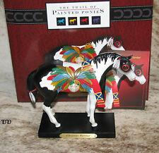 TRAIL OF PAINTED PONIES Cheyenne Warrior ~ LOW 1E/0443 ~ Dog Soldiers ~RETIRED~