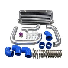 Cxracing Bolt-on Front Mount Intercooler kit BOV For Camaro LS1 Single Turbo