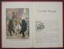 MÉLANDRI - UN BAL MASQUÉ - 1926 HACHETTE CARTONNAGE - OURS CIRQUE ANIMAUX