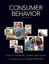 Consumer Behavior (10th Edition), Leon Schiffman, Leslie Kanuk, Good Book