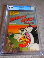 1950 St. Johns Giant Comics Editions nn(#17) Mighty Mouse CGC 8.0