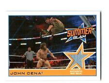 WWE John Cena 2014 Topps Event Used SummerSlam 2013 Mat Relic Card