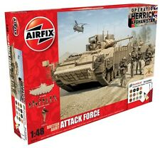 Airfix 50161 - 1/48 BRITISH ARMY ATTACK FORCE PLASTIC MODEL KIT GIFT SET