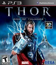 Thor: God of Thunder [PlayStation 3 PS3, Marvel Sega Action Video Game] NEW