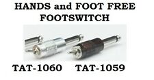 Silver Wireless FootSwitch - Hand and Foot Free - Tattoo Supplies