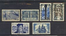 France - small lot of 6 nice used stamps (Catalog Value $40.00)