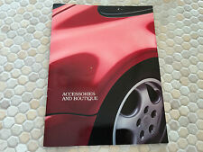 PORSCHE 911 964 CARRERA TURBO 944 S S2 928 ACCESSORIES SALES BROCHURE 1990-91