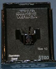 Star Wars Stainless Steel Sz 10 Storm Trooper Mens Ring New Jewelry