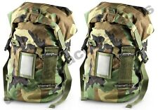 SET OF 2 NEW Military Protective Carrying Bag Ensemble Utility Bag Woodland Camo