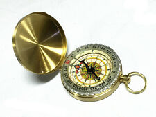 Metal Case Vintage Design Camping Compass Lensatic Engineer Directional Compass