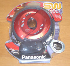 New sealed 2003 PANASONIC SL-SW940 FIRE RED Shockwave Discman portable cd player