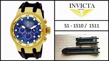 NEW Silicone Rubber Watch Band Strap For Invicta S1 Specialty - 1510