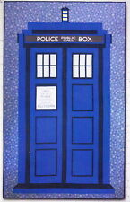 Relatively Dimensional - Dr Who Tardis quilt PATTERN - Hunter's Design Studio