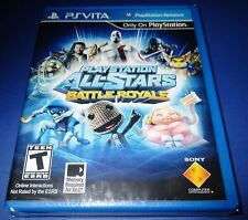 Playstation All-Stars Battle Royale - Playstation Vita - New!! Free Shipping!!