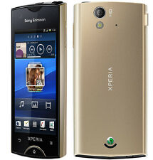 Sony Ericsson Xperia ray  ST18 Gold Android OS smartphone free shipping