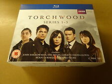 12-DISC BLU-RAY BOX / TORCHWOOD - SERIES 1 - 3