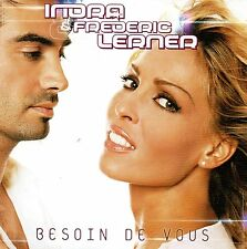 CD single Indra & Frederic Lerner Besoin de vous 3 tracks card sleeve