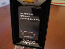 CHEVROLET CHEVY CORVETTE ZR1 ZIPPO LIGHTER MINT IN BOX