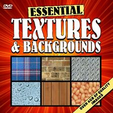 ESSENTIAL TEXTURES & BACKGROUNDS DVD - Over 1500 Quality Images