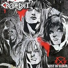 CRASHDIET REST IN SLEAZE CD AWESOME SWEDISH HARD ROCK