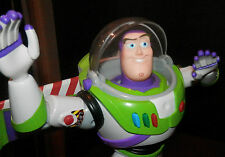 "Toy Story Poseable Karate Action Buzz Lightyear 12"" TaLL POSEABLE JOINTS/fingers"