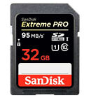 SanDisk Extreme Pro SD SDHC 32GB UHS-1 95MB/s Class10 633X Memory Card 32G