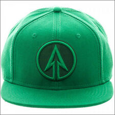 Green Arrow Logo Oliver Queen DC Comics Green Snapback Cap Hat LICENSED NEW