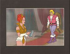 HE-MAN Masters of the universe Original Production Animation Art Cel setup 2*